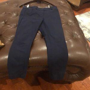 LOFT Pants - Loft Size 4 Navy Blue Marissa Skinny Pants